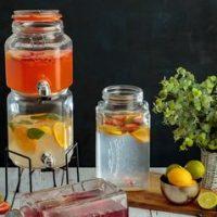 KILNER® STACKABLE JAR SET WITH DISPENSING TAPS